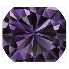 Amethyst Double Sided Flano Blanket (small)  by BangZart