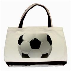 Soccer Ball Basic Tote Bag by BangZart