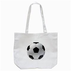 Soccer Ball Tote Bag (white) by BangZart