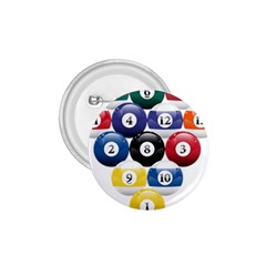 Racked Billiard Pool Balls 1 75  Buttons by BangZart