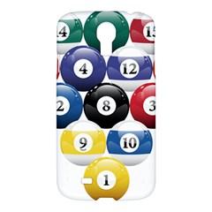 Racked Billiard Pool Balls Samsung Galaxy S4 I9500/i9505 Hardshell Case by BangZart