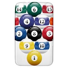 Racked Billiard Pool Balls Samsung Galaxy Tab 3 (8 ) T3100 Hardshell Case  by BangZart