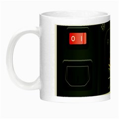 Special Black Power Supply Computer Night Luminous Mugs by BangZart