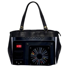 Special Black Power Supply Computer Office Handbags by BangZart