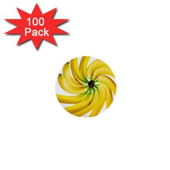 Bananas Decoration 1  Mini Buttons (100 Pack)  by BangZart