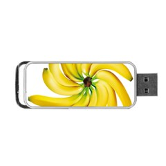 Bananas Decoration Portable Usb Flash (two Sides) by BangZart