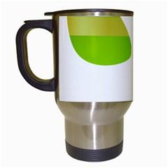 Green Swimsuit Travel Mugs (white) by BangZart