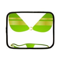 Green Swimsuit Netbook Case (small)  by BangZart