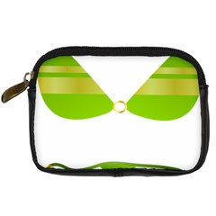 Green Swimsuit Digital Camera Cases by BangZart