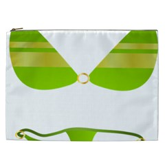 Green Swimsuit Cosmetic Bag (xxl)  by BangZart