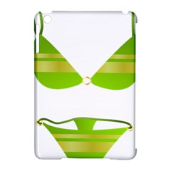 Green Swimsuit Apple Ipad Mini Hardshell Case (compatible With Smart Cover) by BangZart