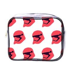 Stormtroper Pattern  Mini Toiletries Bags by paulaoliveiradesign