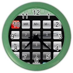 Calculator Color Wall Clocks by BangZart