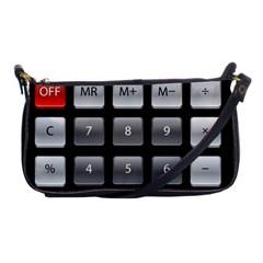 Calculator Shoulder Clutch Bags by BangZart