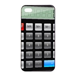Calculator Apple Iphone 4/4s Seamless Case (black) by BangZart