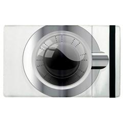 White Washing Machine Apple Ipad 3/4 Flip Case by BangZart