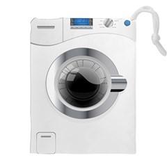 White Washing Machine Drawstring Pouches (xxl) by BangZart