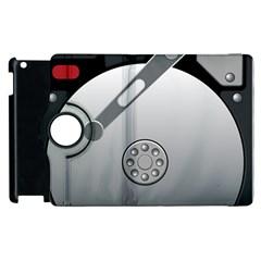Computer Hard Disk Drive Hdd Apple Ipad 2 Flip 360 Case by BangZart