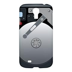 Computer Hard Disk Drive Hdd Samsung Galaxy S4 I9500/i9505 Hardshell Case by BangZart