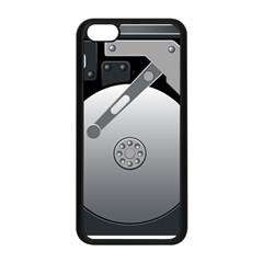 Computer Hard Disk Drive Hdd Apple Iphone 5c Seamless Case (black) by BangZart