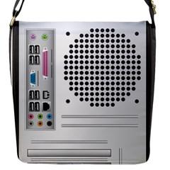 Standard Computer Case Back Flap Messenger Bag (s) by BangZart