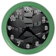 Tire Color Wall Clocks by BangZart