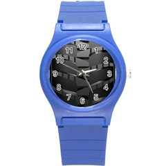 Tire Round Plastic Sport Watch (s) by BangZart