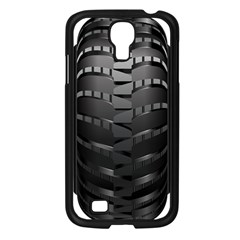 Tire Samsung Galaxy S4 I9500/ I9505 Case (black) by BangZart