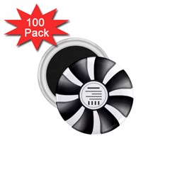 12v Computer Fan 1 75  Magnets (100 Pack)  by BangZart