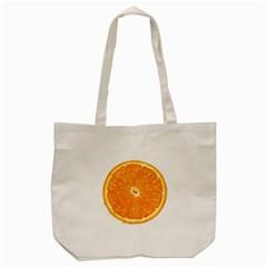 Orange Slice Tote Bag (cream) by BangZart