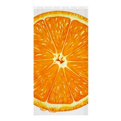Orange Slice Shower Curtain 36  X 72  (stall)  by BangZart