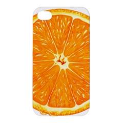 Orange Slice Apple Iphone 4/4s Hardshell Case by BangZart