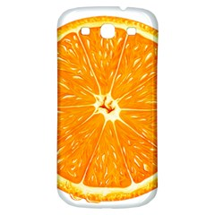 Orange Slice Samsung Galaxy S3 S Iii Classic Hardshell Back Case by BangZart