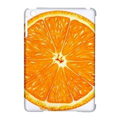 Orange Slice Apple Ipad Mini Hardshell Case (compatible With Smart Cover) by BangZart