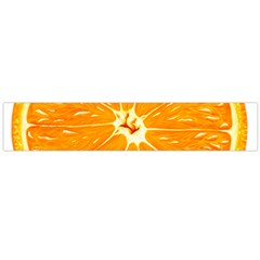 Orange Slice Flano Scarf (large) by BangZart