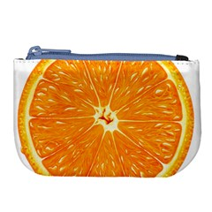 Orange Slice Large Coin Purse by BangZart