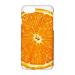 Orange Slice Apple Iphone 7 Hardshell Case by BangZart