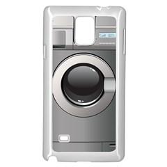 Washing Machine Samsung Galaxy Note 4 Case (white) by BangZart