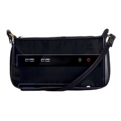 Standard Computer Case Front Shoulder Clutch Bags by BangZart
