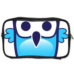 Owl Logo Clip Art Toiletries Bags 2 Side by BangZart