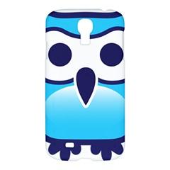 Owl Logo Clip Art Samsung Galaxy S4 I9500/i9505 Hardshell Case by BangZart