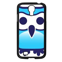 Owl Logo Clip Art Samsung Galaxy S4 I9500/ I9505 Case (black) by BangZart