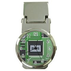 Computer Bios Board Money Clip Watches by BangZart