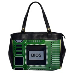 Computer Bios Board Office Handbags by BangZart
