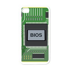 Computer Bios Board Apple Iphone 4 Case (white) by BangZart