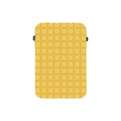 Yellow Pattern Background Texture Apple Ipad Mini Protective Soft Cases by BangZart