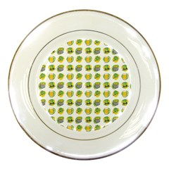 St Patrick S Day Background Symbols Porcelain Plates by BangZart