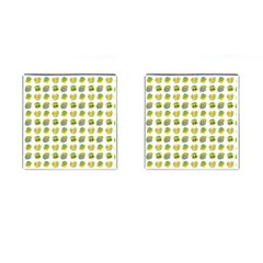 St Patrick S Day Background Symbols Cufflinks (square) by BangZart