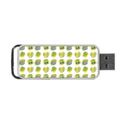 St Patrick S Day Background Symbols Portable Usb Flash (one Side) by BangZart