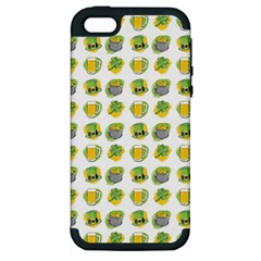 St Patrick S Day Background Symbols Apple Iphone 5 Hardshell Case (pc+silicone) by BangZart